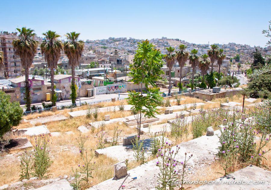 Hebron, cementerio, H2, ocupacion, Shuhada, palestina