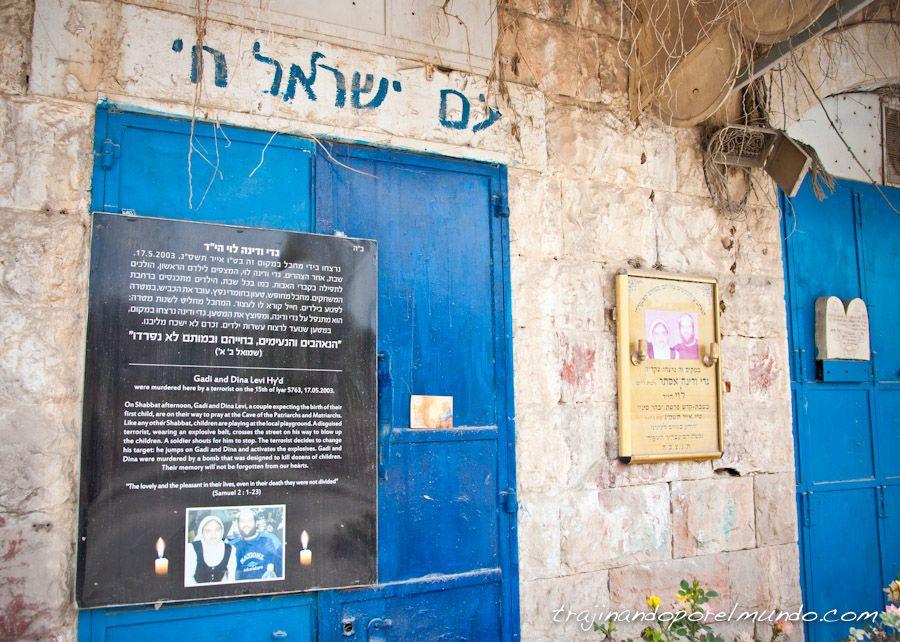 judios asesinados en Hebron, Palestina, Israel
