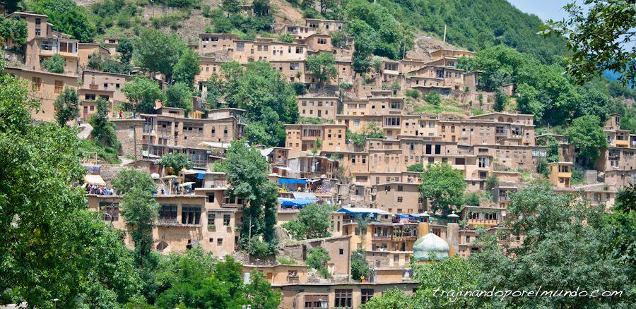 viaje, Iran, pueblo, patrimonio, norte de iran, montañas