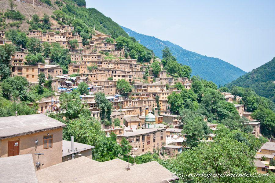 viaje a Iran, norte de Iran, pueblos, rural, masuleh
