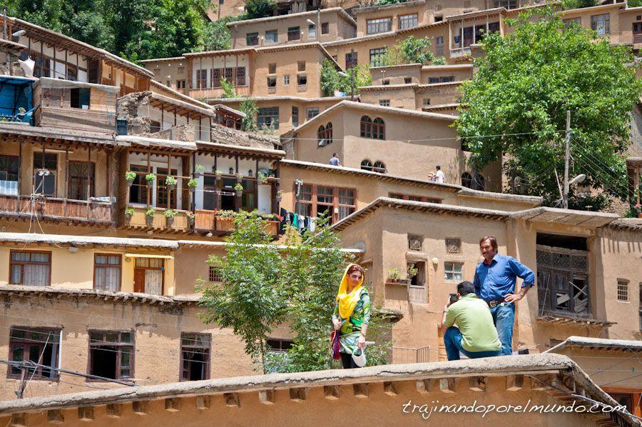 viaje, Iran, rural, montañas, patrimonio, norte de Iran