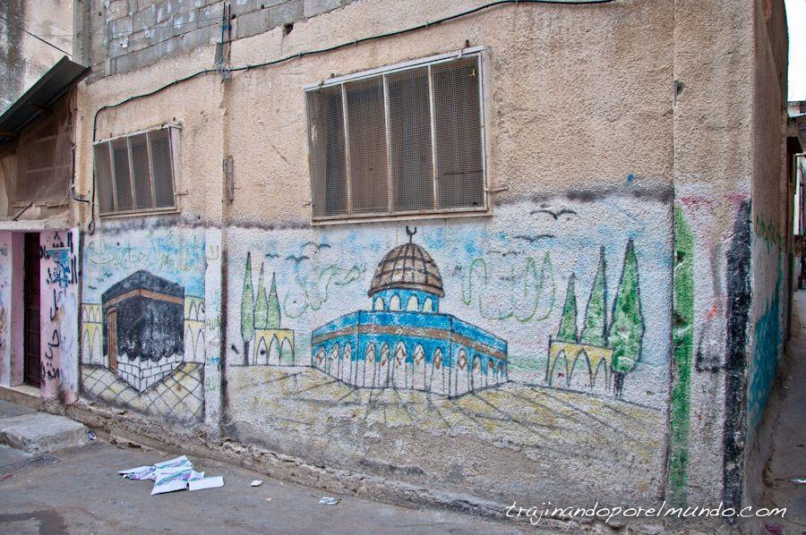 campo de refugiados, palestina, cisjordania, conflicto
