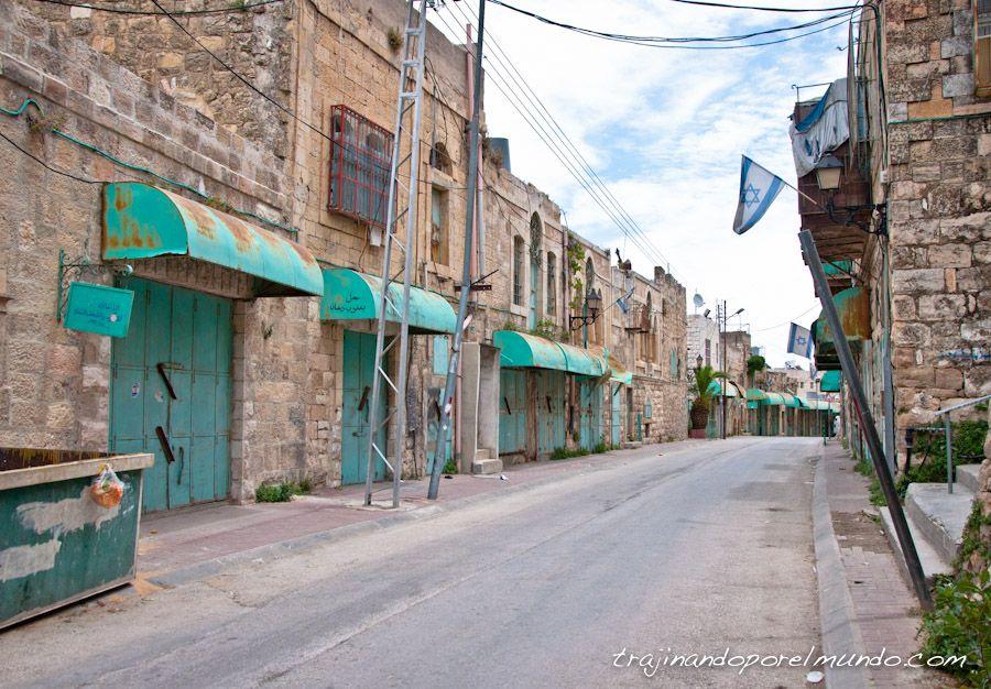 Ciudad Fantasma, Zona muerta, Hebron, palestina, ocupacion