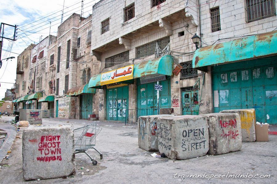 shuhada, checkpoint, palestina, ocupacion