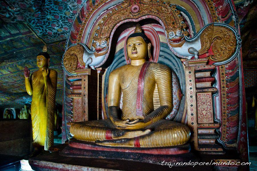 Sri Lanka, Dambulla, cuevas, patrimonio, que ver, budismo