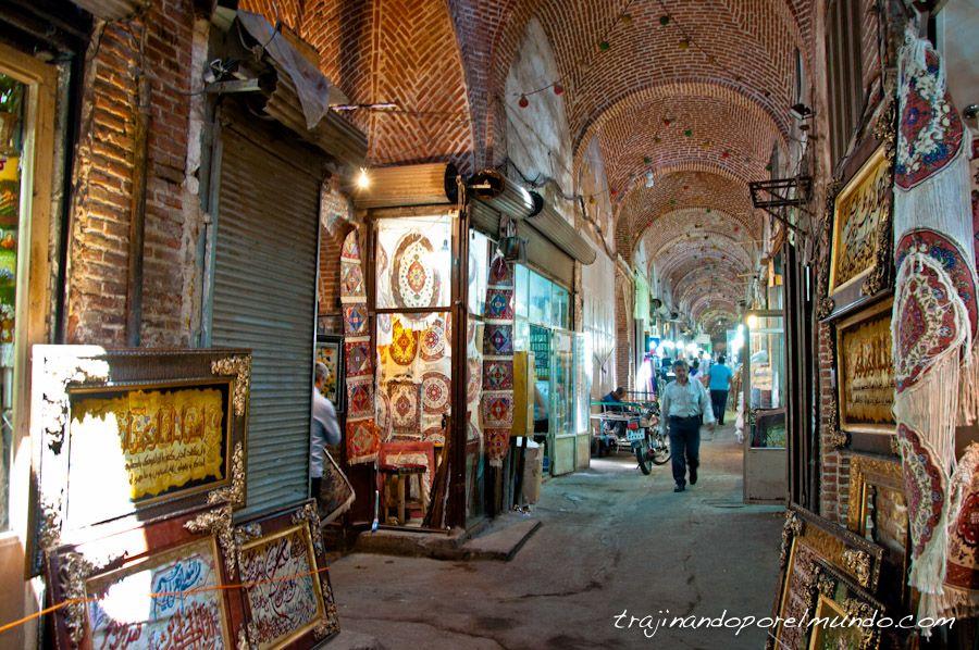 alfombras persas, mercado, comprar, iran