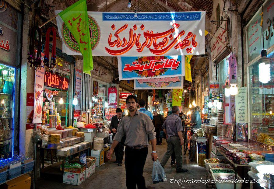 bazar mas grande del mundo, iran, viajar, tabriz, que ver