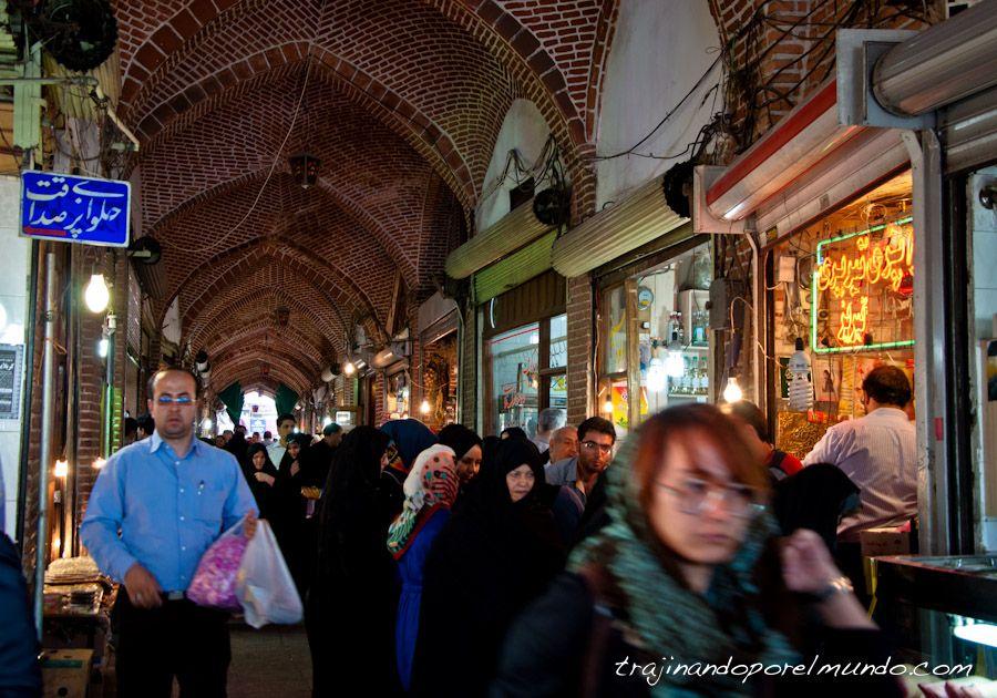 tabriz, iran, bazar, compras, tiendas