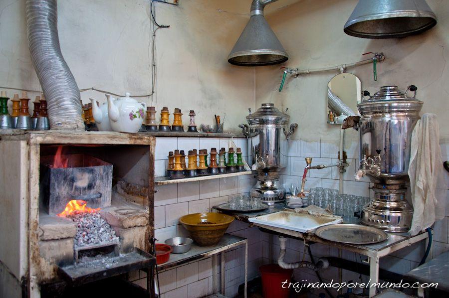 Viajar a Irán, Tabriz, que ver, bazar, tetería