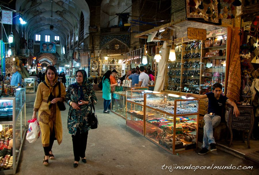 Isfahan-gran-bazar-compras-iran