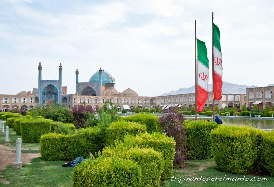 plaza del Iman, Isfahan, verano, siesta, iran