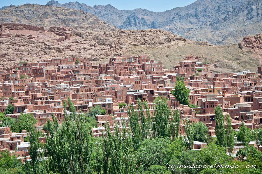 abyaneh, pueblo, Iran, viaje, que ver en Kashan
