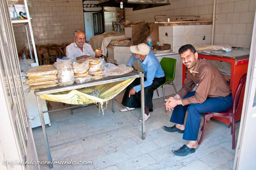 abyaneh, pueblo, panaderia, que ver en Kashan