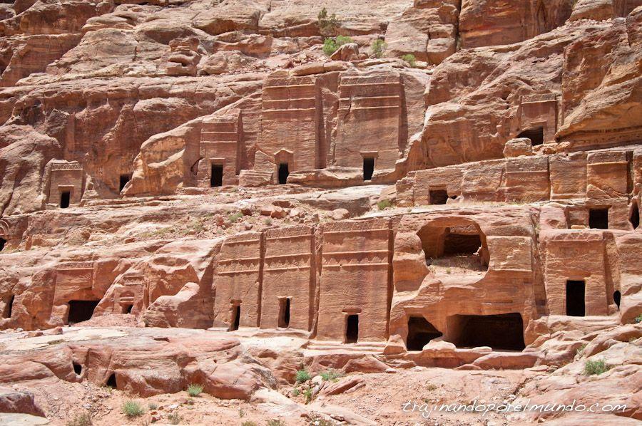 ciudad, nabateos, jordania, patrimonio, humanidad, que ver, viaje
