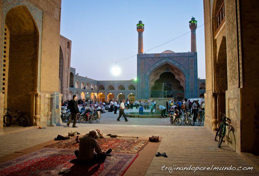 Masjed-e Jame, Isfahan, que ver, oracion, mezquita, arquitectura