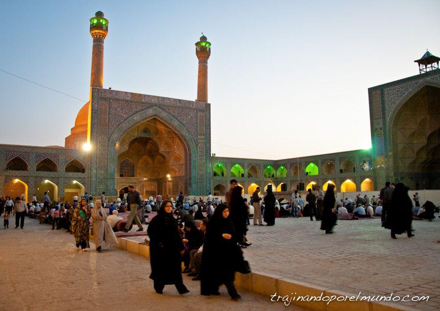 isfahan, oracion, mezquita, Masjed-e Jame