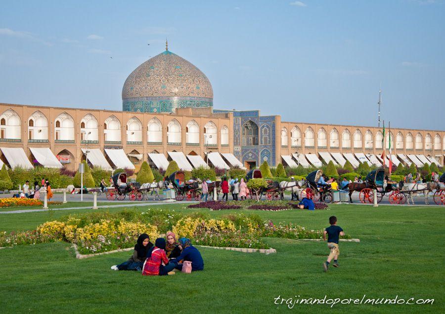 Isfahan, que ver, Iran, que hacer, plaza del Iman, Lotfollah