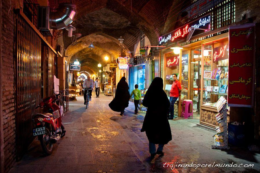 Isfahan, plaza, Iman, tiendas, compras, bazar