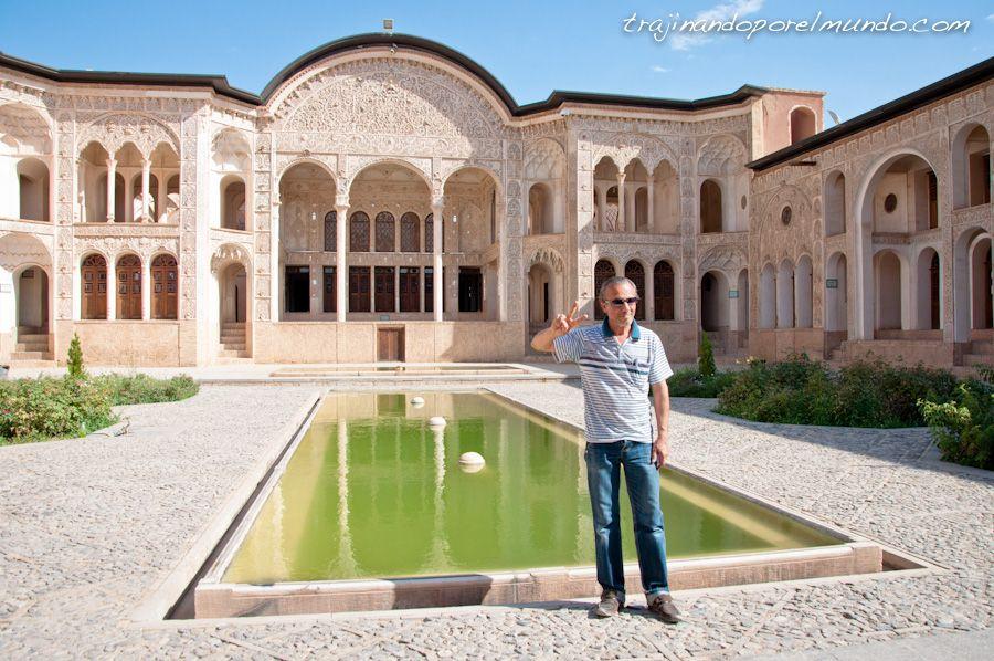 viaje a Iran, que ver en Kashan, casas historicas