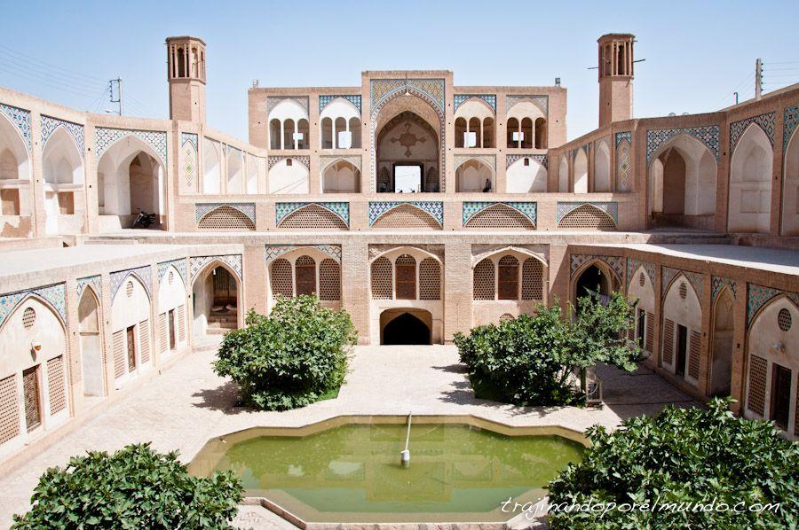 que ver en Kashan, mezquitas, Iran, arquitectura, persia