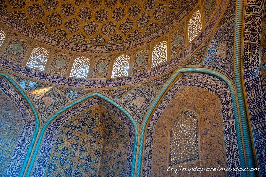 viaje, iran, mezquitas, arte islamico, que ver , isfahan