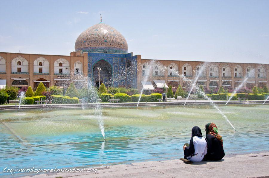 que ver en Isfahan, mezquita, lotfollah, arquitectura, plaza