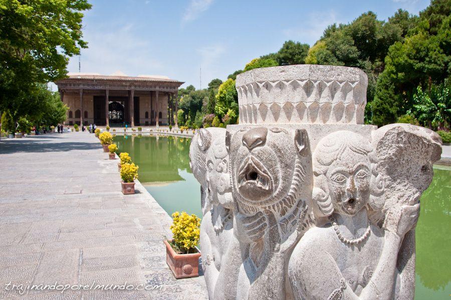 Chehel Sotun, Isfahan, que ver, palacio, arquitectura