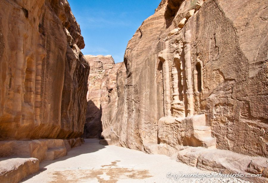 Siq, viaje, jordania, que ver, entrada a Petra, precio