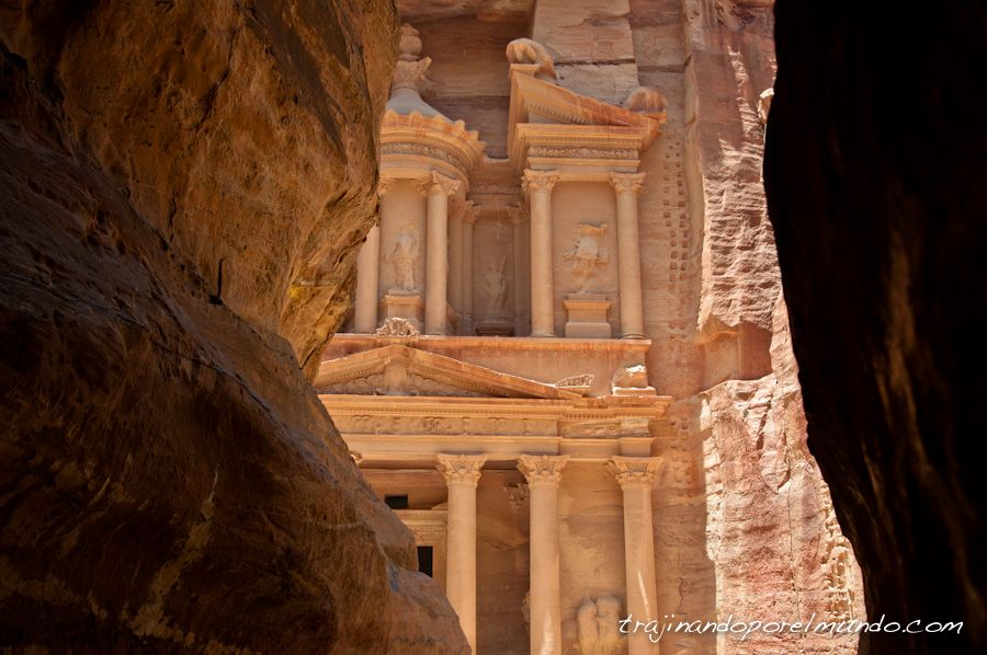 Petra, amanecer, mañana, Indiana Jones, Tesoro, fachada, cuando ir