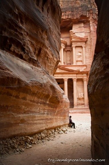 Petra, sin turistas, jordania, tesoro, templo, tumba