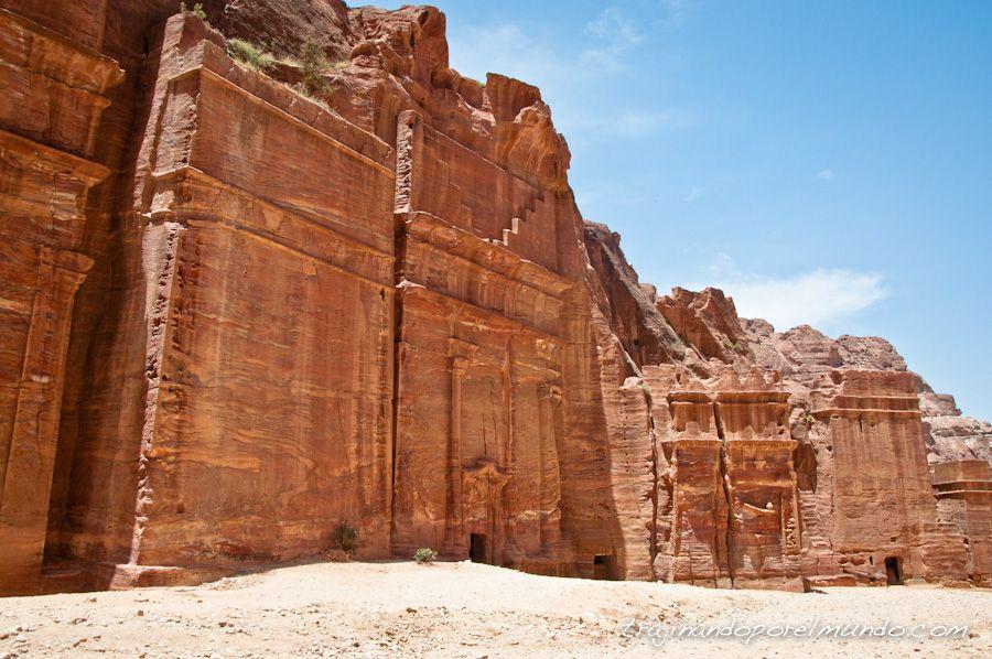 tumbas, roca, reyes, arqueologia, que ver en petra