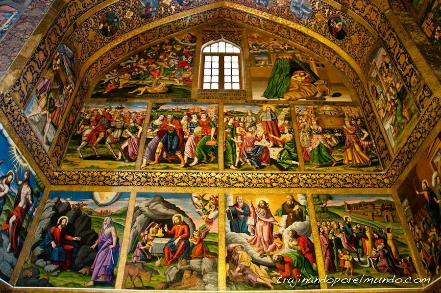 barrio armenio, Jolfa, catedral, iglesia, arte