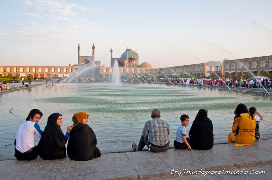 Isfahan, que ver, plaza, iman, mezquita del shah