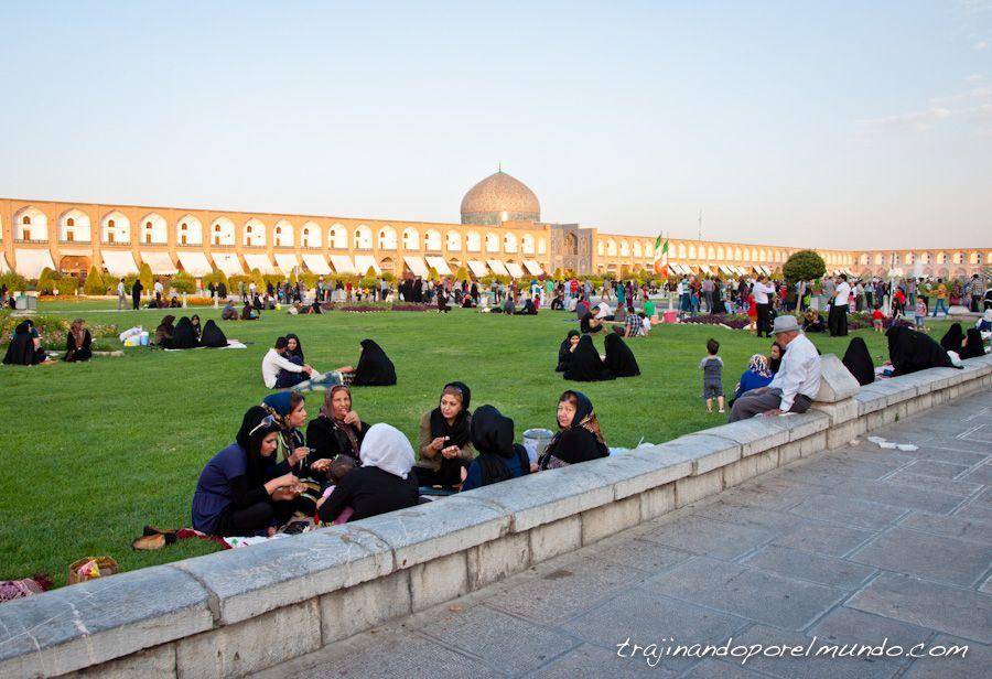 Isfahan, que ver, viaje, Iran, verano, costumbres