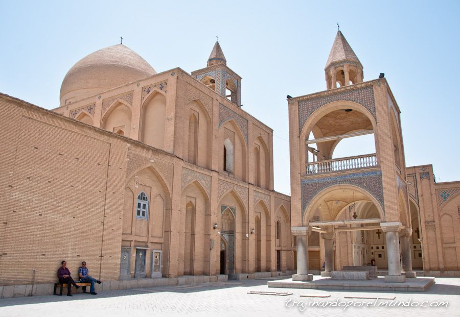 Jolfa, armenio, catedral, isfahan, religion, iglesia