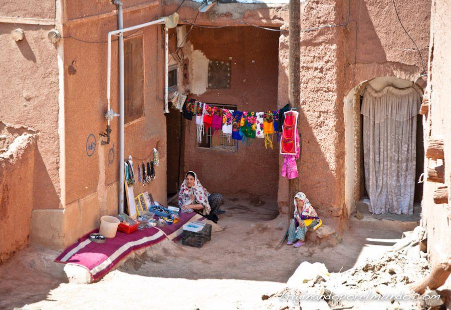 interior de Iran, casas, pueblos, viaje