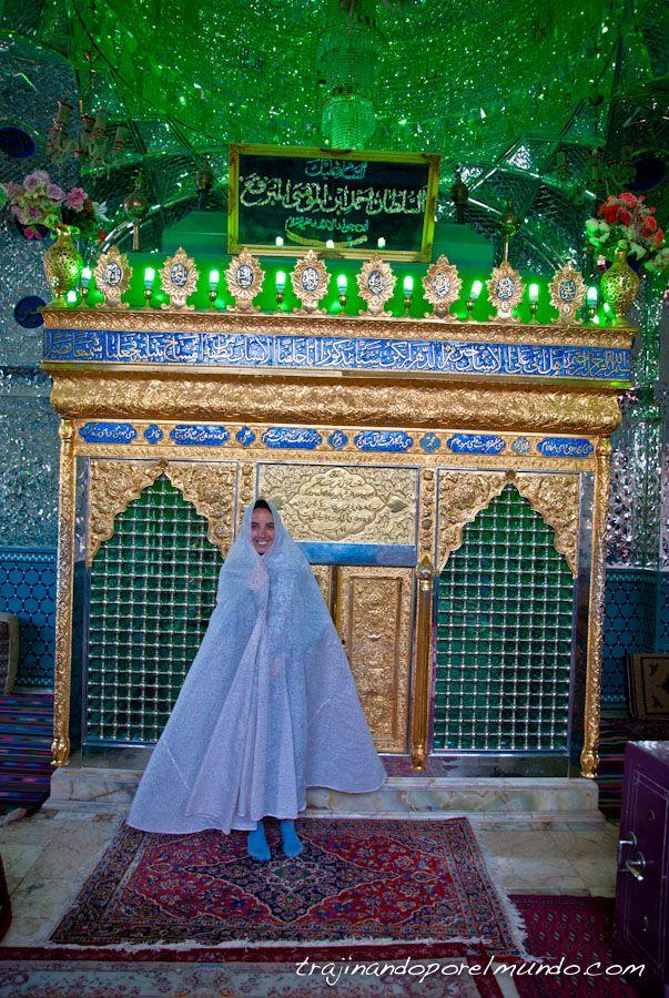 Iran, que ver, kashan, mezquita, tumba