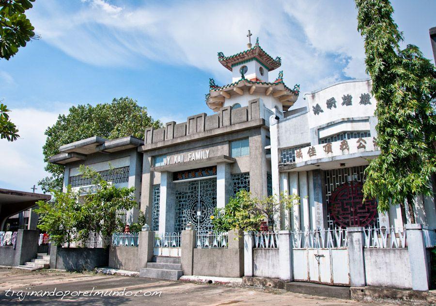 Manila, que ver, cementerio chino, panteones