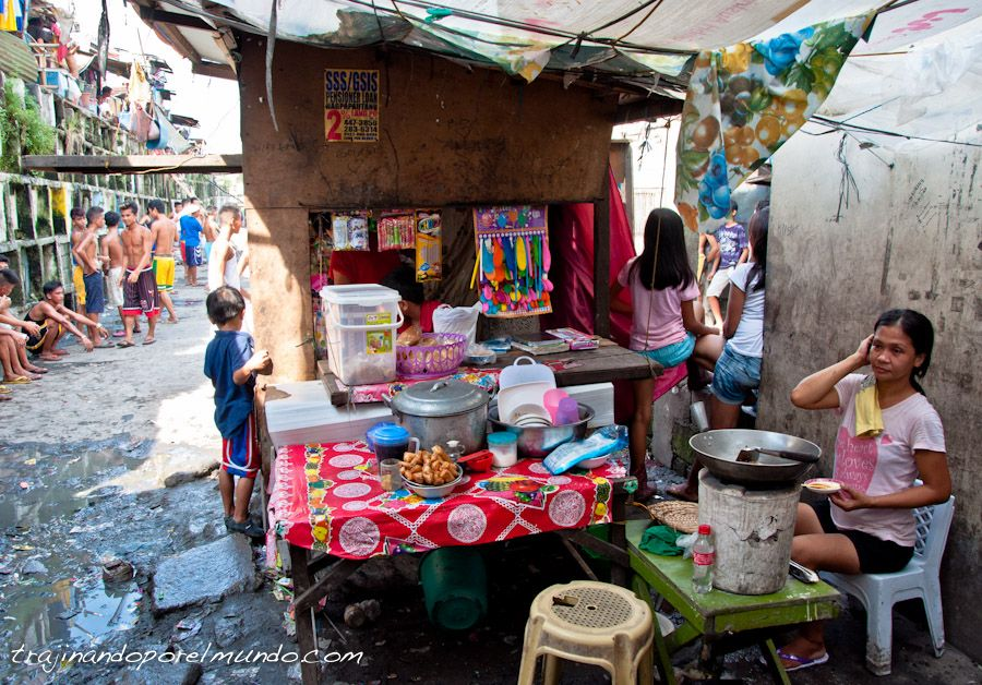 Manila, slums, pobreza, chabolas, barrio marginal