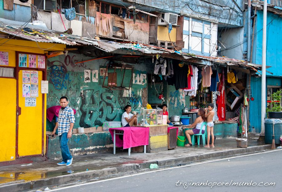 Manila, viaje, Filipinas, ambiente, barrio rojo, pobreza