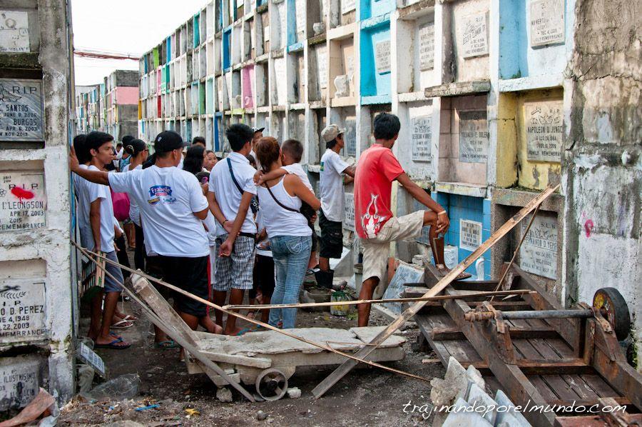 Filipinas, que ver, cementerio, manila, entierro, pobreza