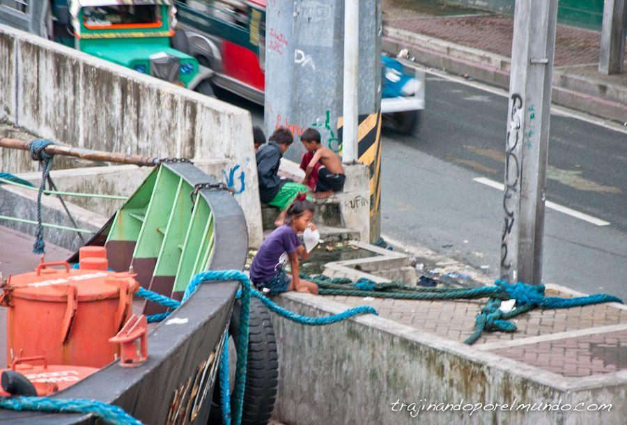 Manila, Filipinas, droga, niños, adictos, pegamento, prostitucion