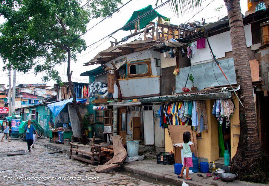 Manila, Filipinas, pobreza, casas,