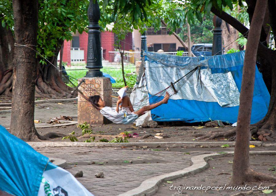 manila, pobreza, sin techo, filipinas
