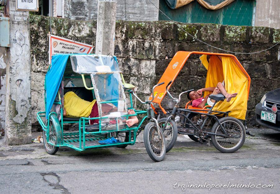 Filipinas, transporte, como moverse, triciclos