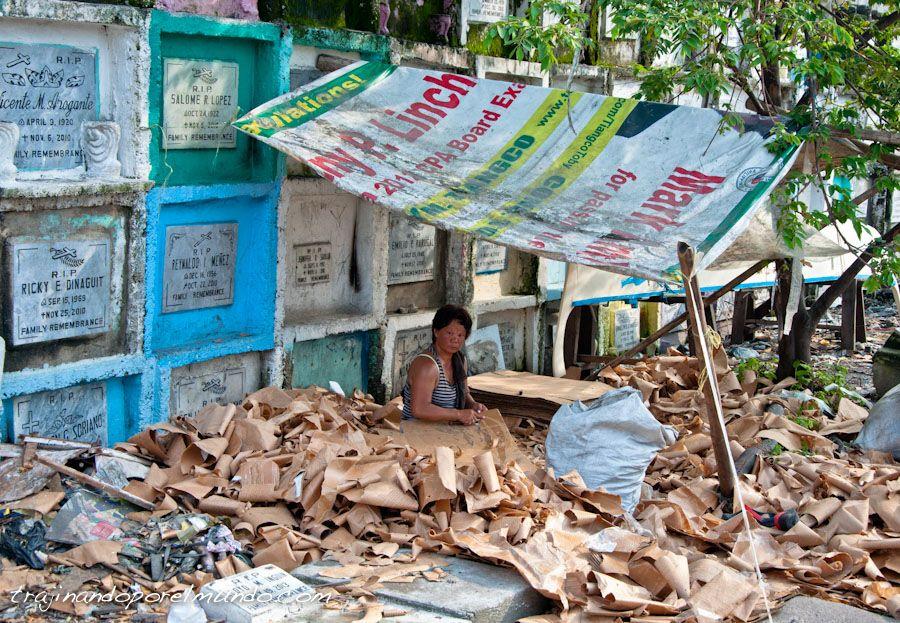pobreza, filipinas, vertedero, cementerio, navotas