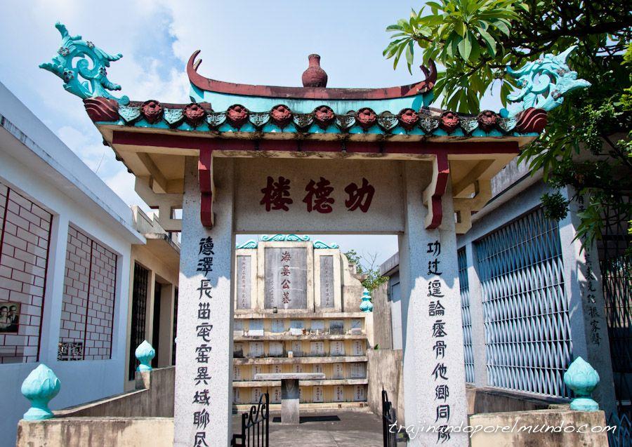 cementerio chino, manila, tumba, arquitectura