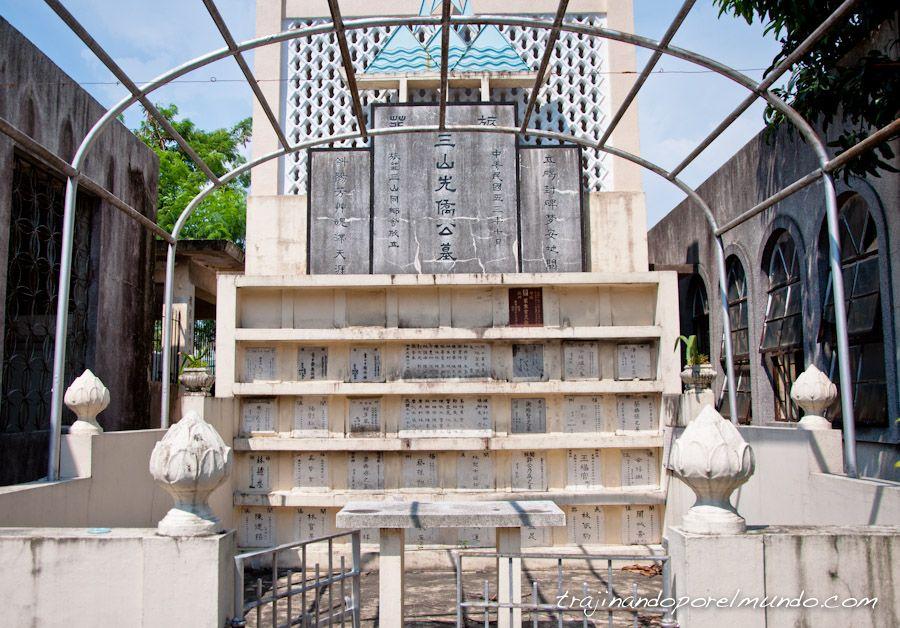 Manila, que ver, cementerio chino, visita, tumbas