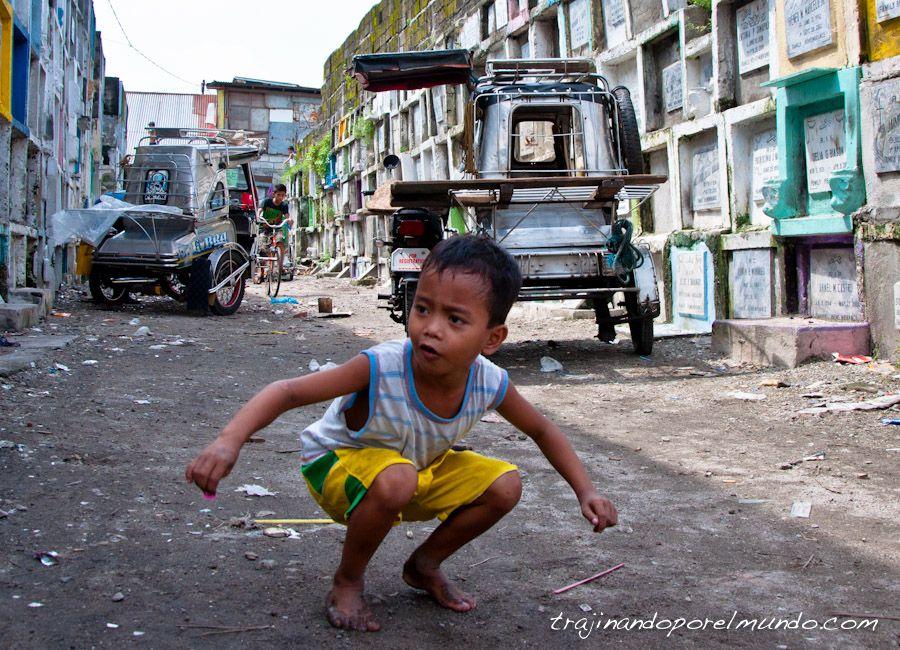Manila, pobreza, slum, cementerio, filipinas