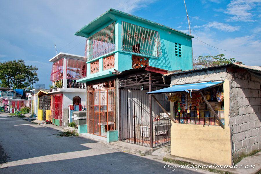 filipinas, cementerio norte, manila, casas, tumbas, panteones